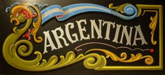 Argentina fileteado