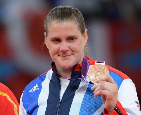 Great Britain's Karina Bryant with her bronze medal in the Women's 78kg+ Judo.