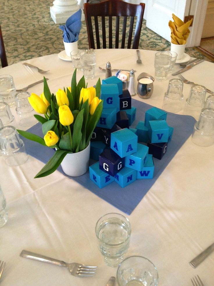Boy Baby Shower Centerpieces For Tables My Best Friend S