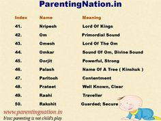 Largest Database Of Beautiful Hindu Boy Baby Names With Accurate Meaning. Pin Best Baby Names For Your Lovely Baby. Brought To You By ParentingNation.in.