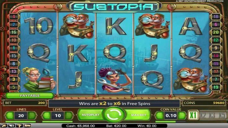 Subtopia ™ free slot machine game preview by Slotozilla.com
