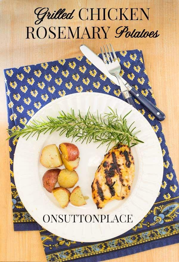 THE PERFECT COMBO! Easy and quick summer meal...serve this and don't get stuck in the kitchen!