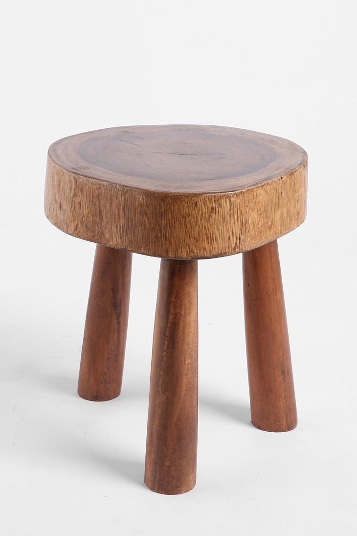 Farmstead Stool  #UrbanOutfitters: Urban Outfitters, Design Interiors, Rustic Design, Dining Rooms Tables, Homes Interiors, Woods Stools, Design Offices, Art Rooms, Farmstead Stools