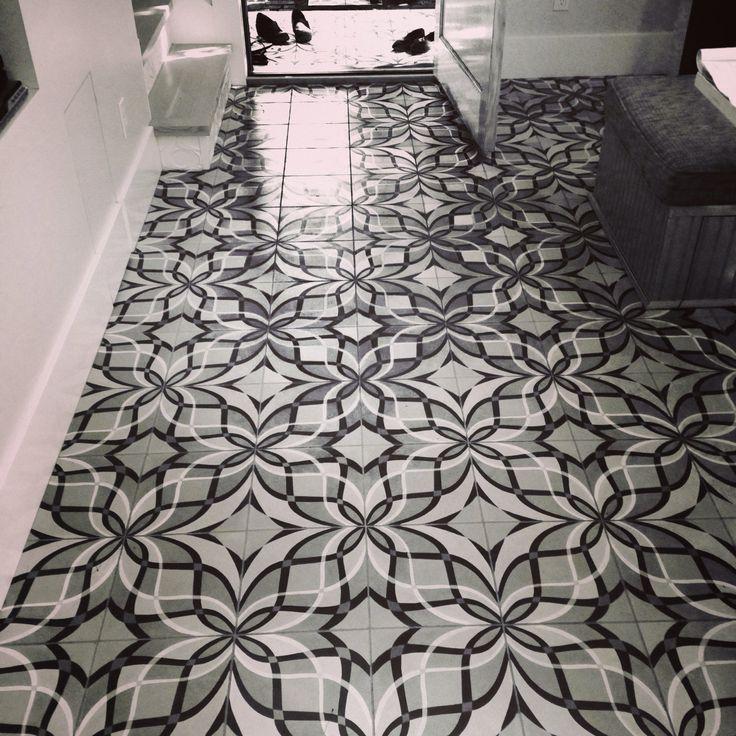 19 Best Archipelago Cement Tile Installations Images On Pinterest