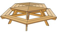 32 Free Picnic Table Plans + Top 3 Most Awesome Picnic Table Plan Awards  