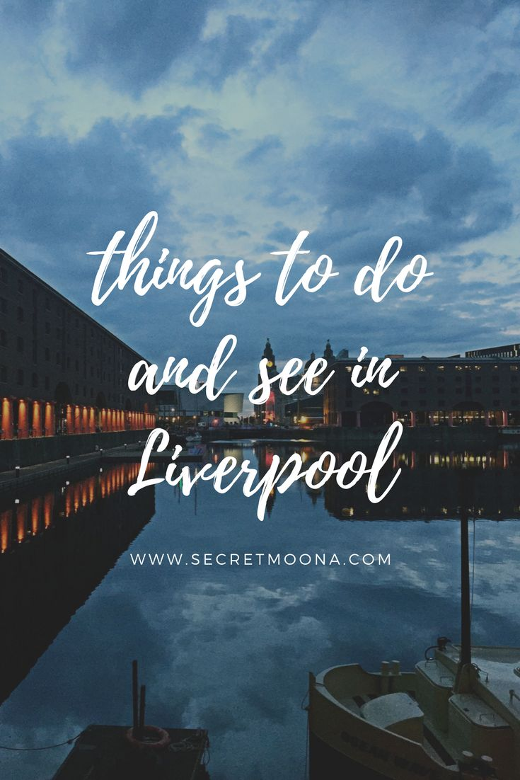 Things to do and see in the city of the Beatles and football!