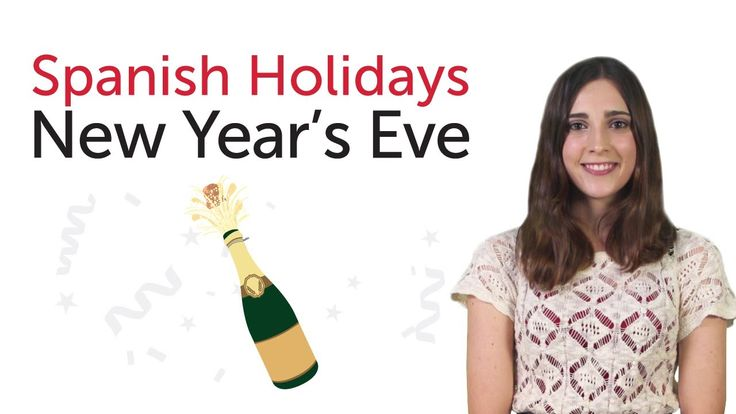 Spanish New Year's Eve - In Spanish with English and Spanish subtitles.