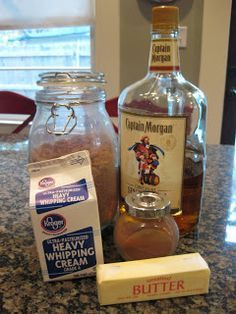 """Spiced Rum Sauce ~ had this served with bread pudding, but I think it would be delicious over ice cream or brownies ala mode! Easy to make for that little """"extra"""" needed with simple desserts!"""