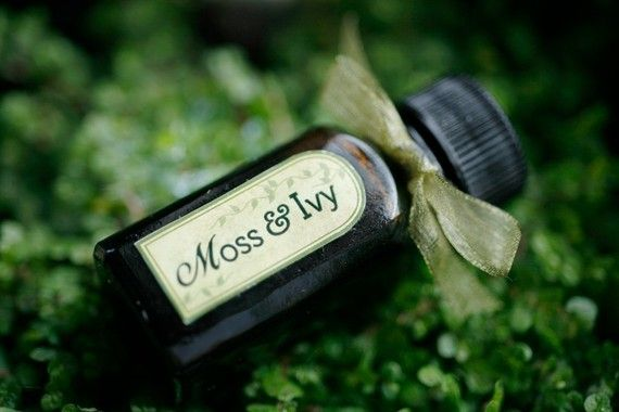 This has to be the most intoxicating scent I have ever worn. I haven't bought the full size yet -- but I really want to... [Moss and Ivy  natural perfume oil by ForStrangeWomen on Etsy, $40.00]