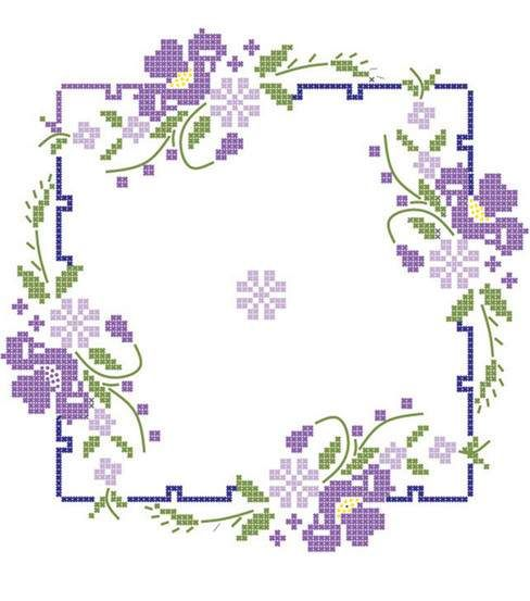 IRIS ON-QUILT BLOCKS