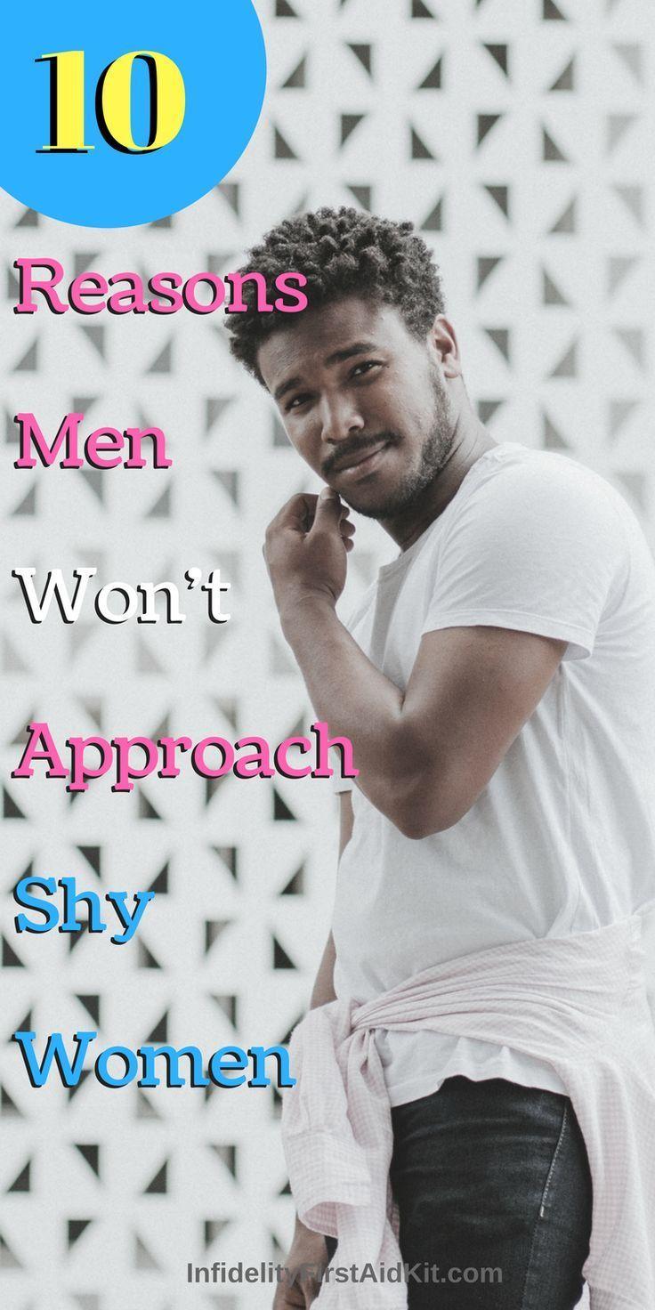 why do men like shy women