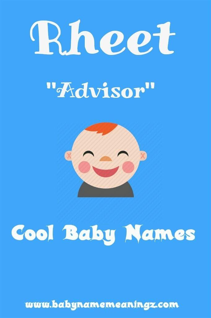 Name: Rhett Gender: 'Boy' Meaning: 'Advisor' Pronunciation ...