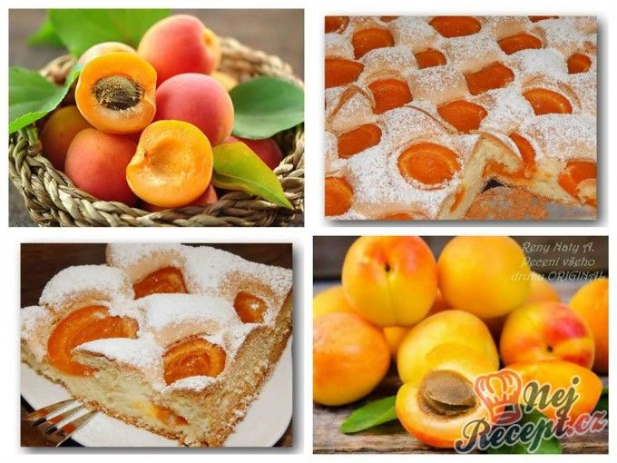 **Nadýchaný - mechový meruňkový koláček