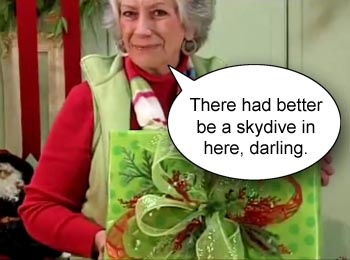 Put a smile on her face this Chrismas, get her a 'Skydive-in-a-Can' skydive gift voucher. www.sunshinecoastskydivers.com.au