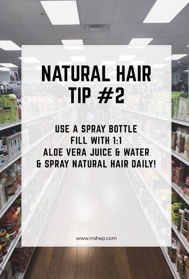Check out Natural Hair Tip #2!