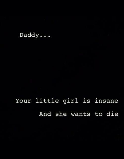 Daddy I'm sorry