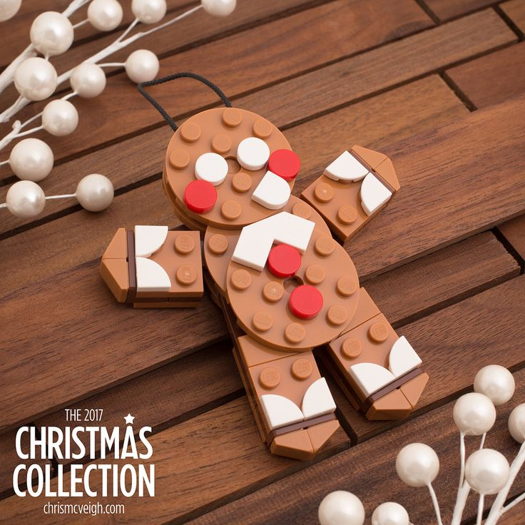 The second project in this year's Christmas Collection is a Platecraft Gingerbread Man! The guide is now available at chrismcveigh.com, and you'll see that includes instructions for a fun variant: the Gingerbread Bear!