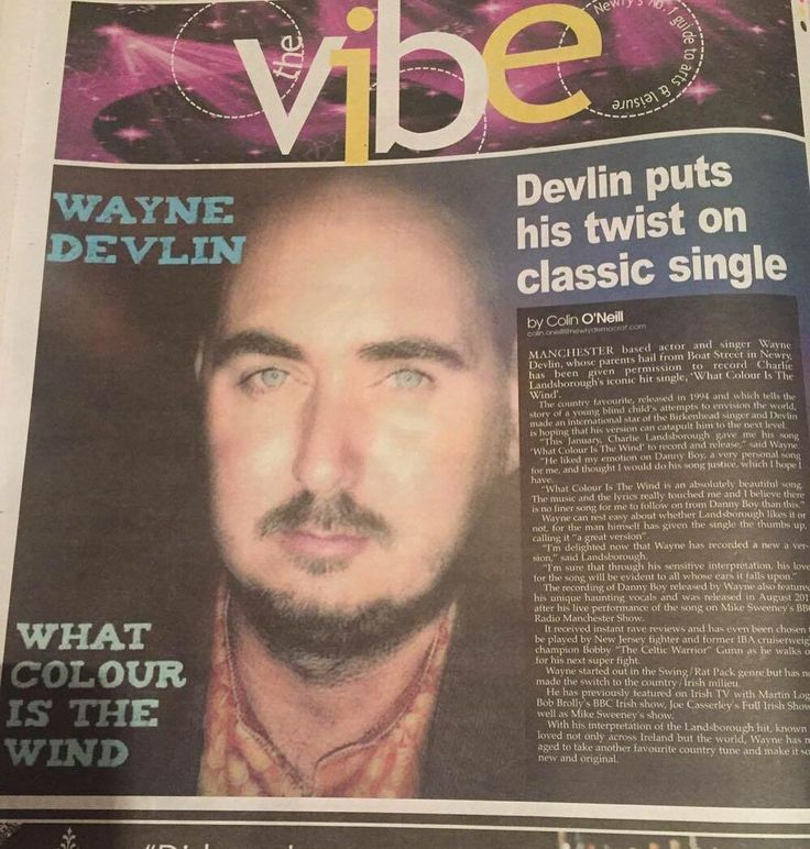 Nice write up about my latest single What Colour Is The Wind