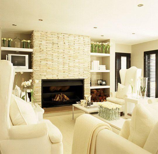 1327 best green orange yellow images on pinterest for for Elegant neutral living rooms