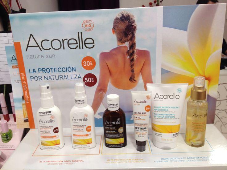 Nuevos #solares #naturales de #Acorelle, en www.ayelenbio.com