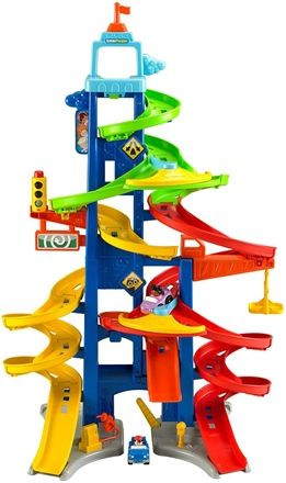 Fisher-Price Biltorn City Skyway Little People