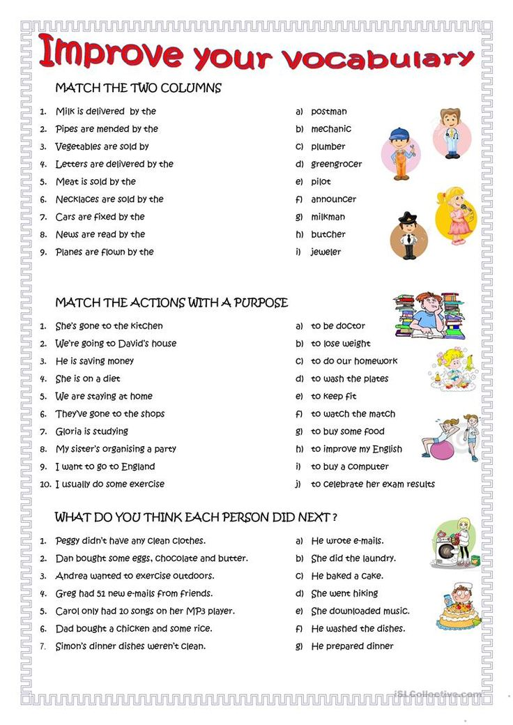 Improve your English (With images) Vocabulary, English