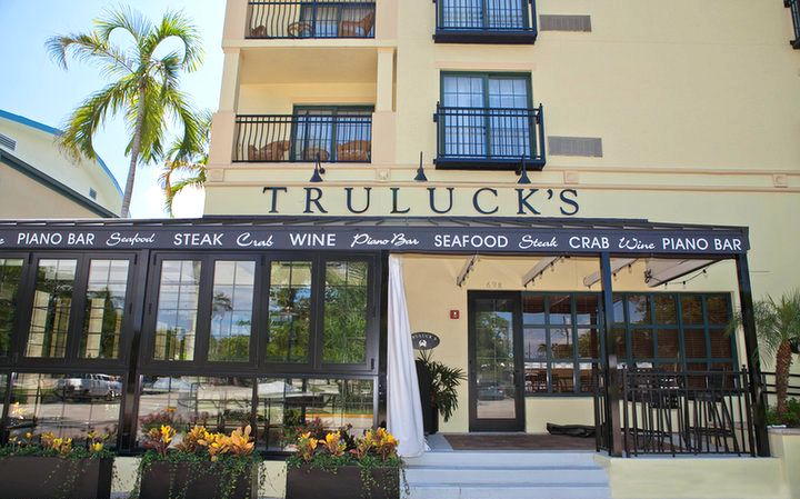 I can almost taste the stone crab now truluck 39 s is known for Fish restaurant naples