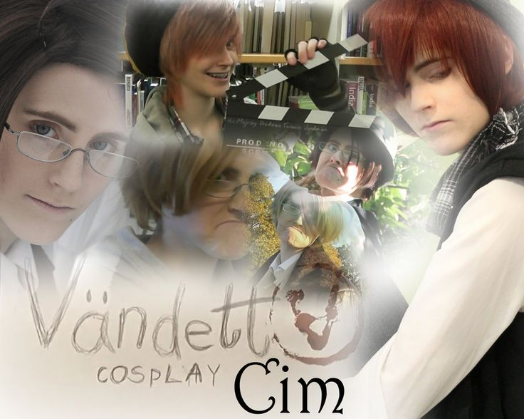 Vandetta cosplay ~ cim Cim is one of my face. She's funny and always knows who to make people laugh