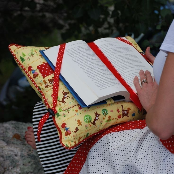 """reading pillow - for all those reading """"old style""""  ut there"""