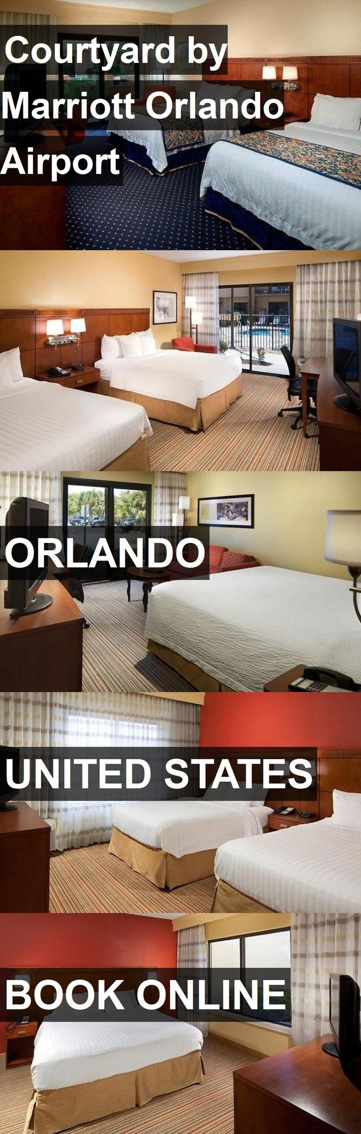 Hotel Courtyard by Marriott Orlando Airport in Orlando, United States. For more information, photos, reviews and best prices please follow the link. #UnitedStates #Orlando #travel #vacation #hotel
