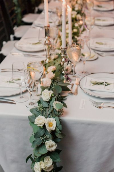 Elegant table: http://www.stylemepretty.com/2015/04/19/romantic-timeless-new-york-city-fall-wedding/ | Photography: Mademoiselle Fiona - http://www.mademoisellefiona.com/