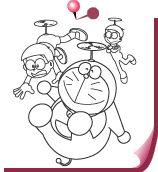 ぬりえチャンネル|ドラえもんチャンネル Doraemon coloring pages