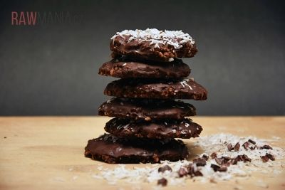 Čokoládové sušenky s kokosem