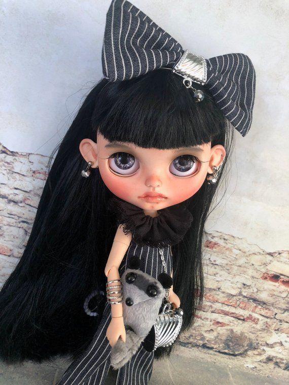 AUSVERKAUFT! Nicht kaufen! Anita Blythe Custom Puppe OOAK mit langen glatten sch…