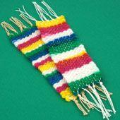 Aunt Annie's Crafts: Handwoven Bookmark Craft Project