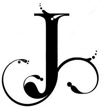 Superior Letter J