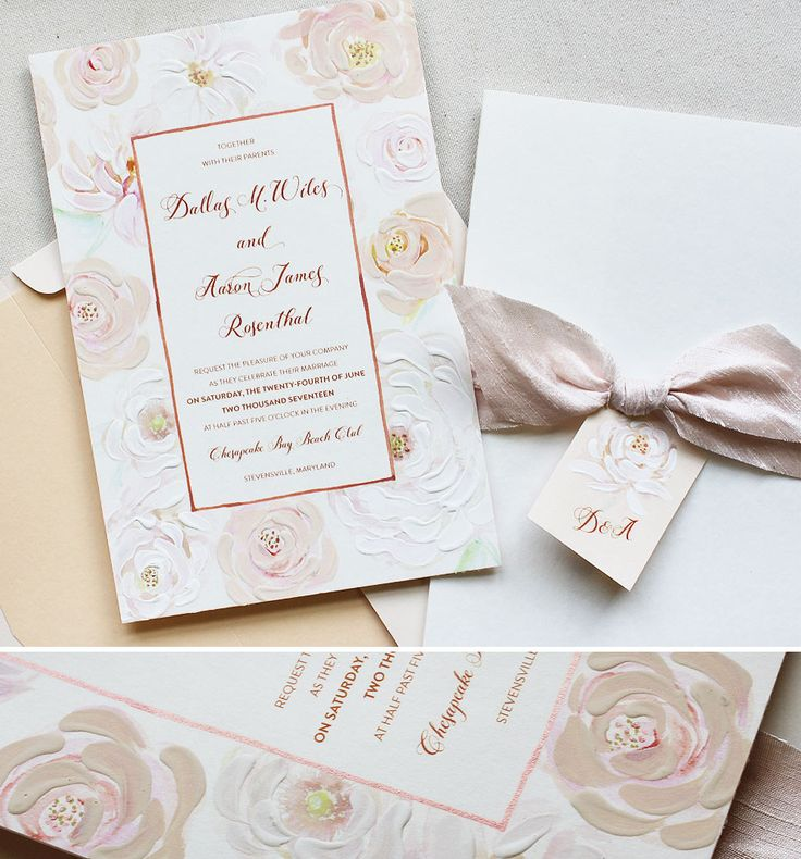 nice wedding invitation font%0A Dallas W   Watercolor Wash Wedding Stationery