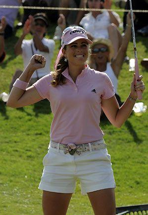PAULA CREAMER, my favorite LPGA golfer!