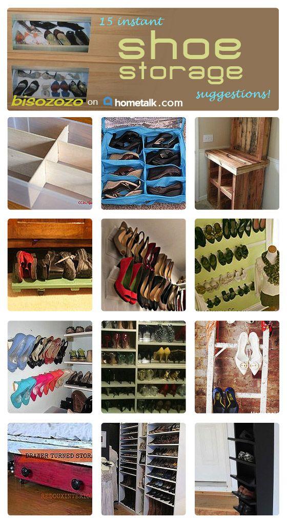 storage organization organizing ideas storage ideas shoe storage