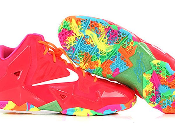 Look! Piece of candy! :D #nike #lebron xi 11 gs fruity pebbles