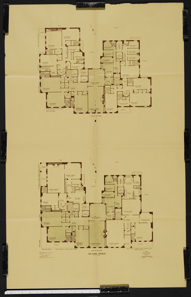 960 Fifth Avenue Floor Plan Impressive House Construction Planset of dining room