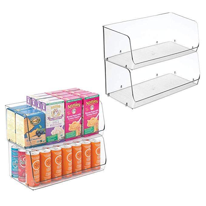 Food Storage Organizer Bin Basket
