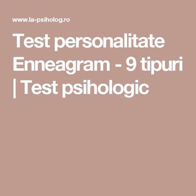 Test personalitate Enneagram - 9 tipuri | Test psihologic