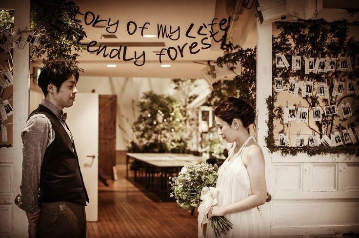 「STORY〜やさしいもり〜」より  VOUS BRIDAL original wedding idea 森、ストーリー、ナチュラル