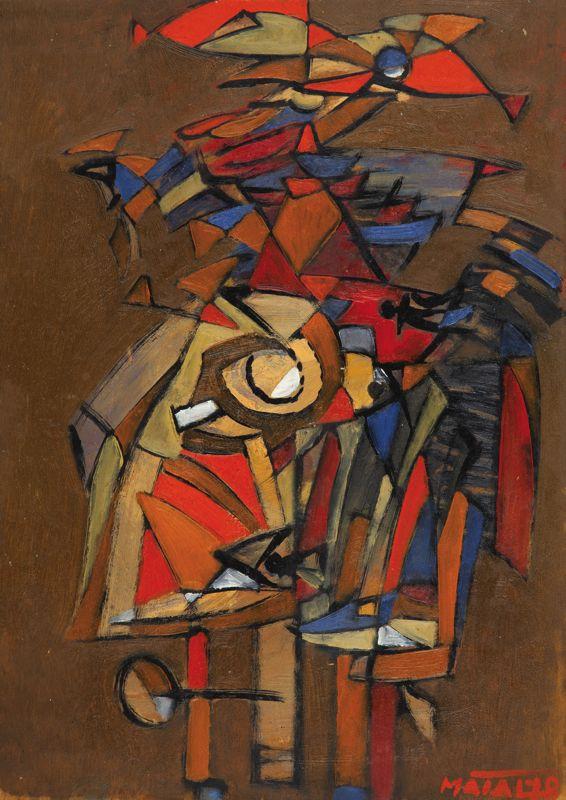 Bohumír Matal  1922-1988  Ptačí muž  1978