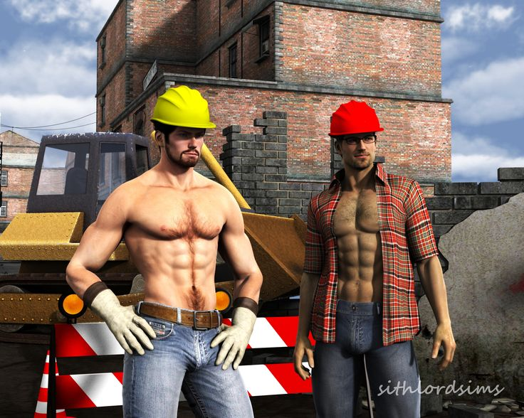from Benjamin pictures of gay construction workers