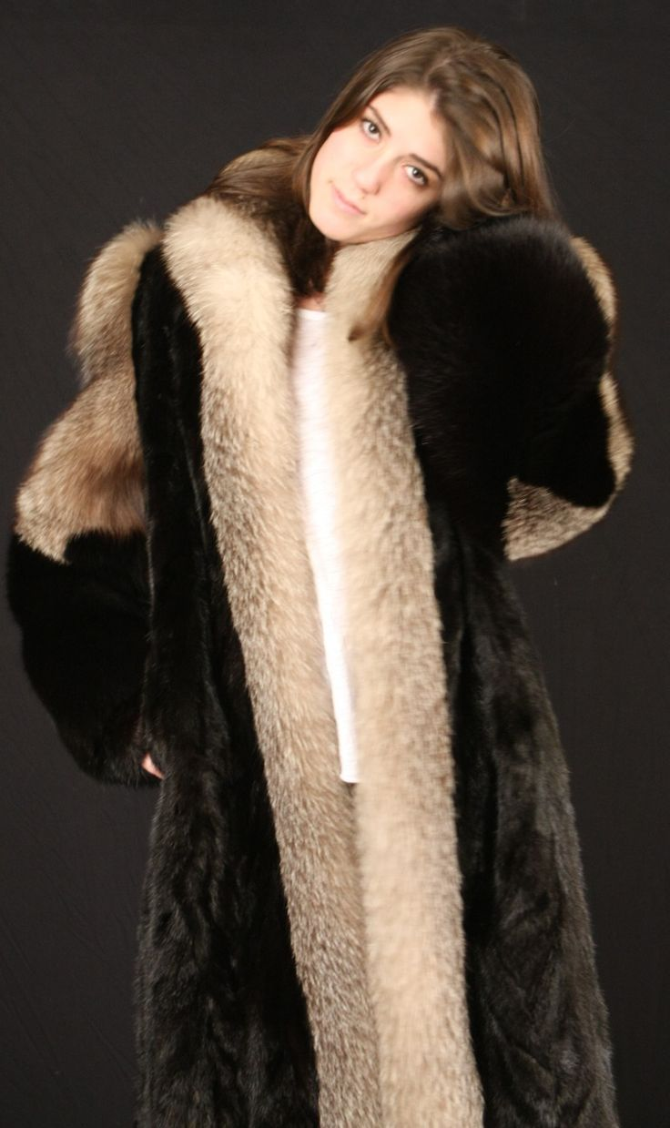 388 best Fur Cite 21 images on Pinterest   Fur coats, Fur fashion ...