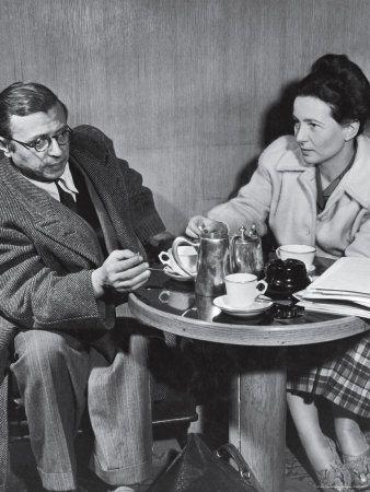 Jean Paul Sartre and Simone De Beauvoir