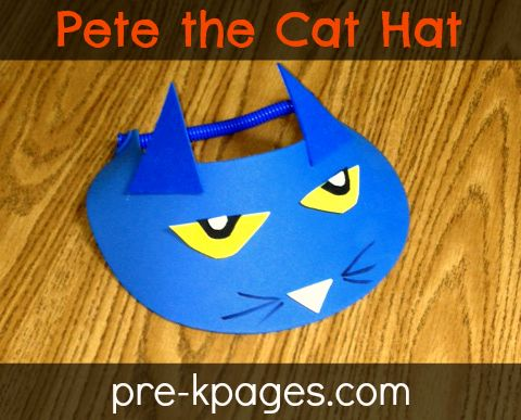 Pete the Cat Party Ideas | Pete the Cat Rhyming Activity | Pre-K Pages