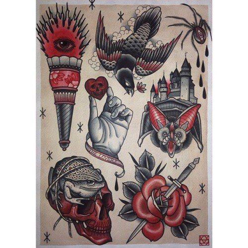 Эскиз для тату #art #рисунок #арт #эскиз #тату #татуировка #картинка #рисунок #картина #творчество #рука #фотография #череп #лист #сердце #паук #факел #глаз #кенжал #роза #птица
